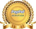 We are PayPal Verified. Since 1999.